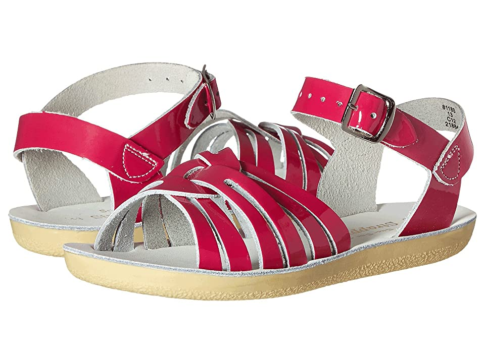 Salt Water Sandal by Hoy Shoes Sun-San Strappy (Toddler/Little Kid) (Shiny Fuchsia) Girls Shoes