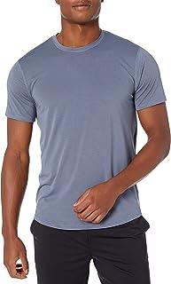 Marchio Amazon - Peak Velocity - Smart Jersey Copper Infused Crew Neck Tee, fashion-t-shirts Uomo
