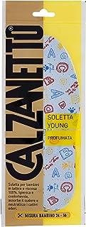 Calzanetto Soletta, Young Profumata, Trattamenti e lucidi scarpe Bambino/Bambina, 0.5 Cmx 05 Cmx 107 cm