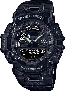 ساعة كاسيو جي شوك رياضية للرجال شاشة ذكية، انالوج بعقارب رقمية، سوار من الراتنج - GBA-900-1ADR