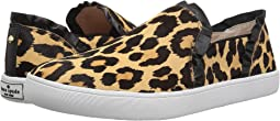 Black/Amaretto Leopard Print Haircalf