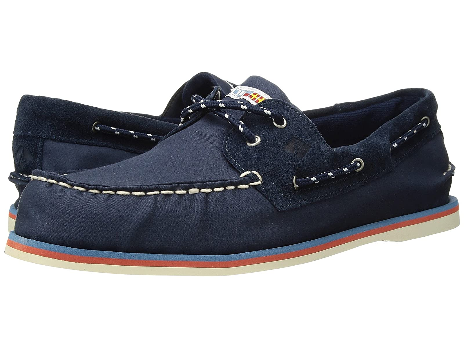 Sperry A/O 2-Eye Nautical CanvasSelling fashionable and eye-catching shoes