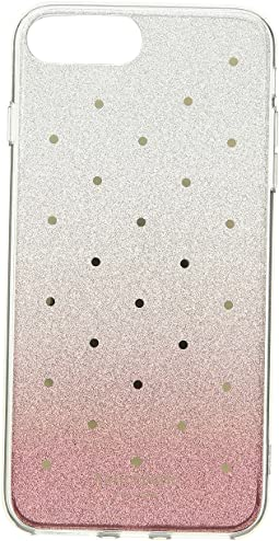 Glitter Ombre Dot Phone Case for iPhone 8 Plus