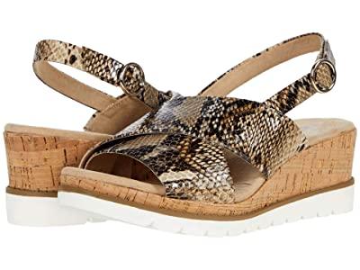 Anne Klein Haven (Cognac Reptile) Women