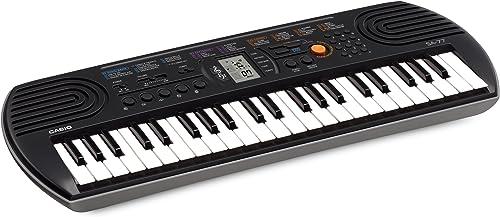 Casio SA-77 Clavier, Noir (Gris)