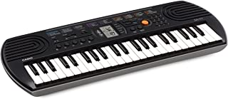 Casio 44 Note Mini Key Musical Keyboard, Black/Grey, (SA77)