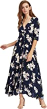 Best pink flowy dress with sleeves Reviews