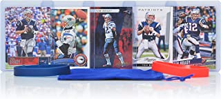 Tom Brady Football Cards Assorted (5) Bundle - New England Patriots Trading Cards