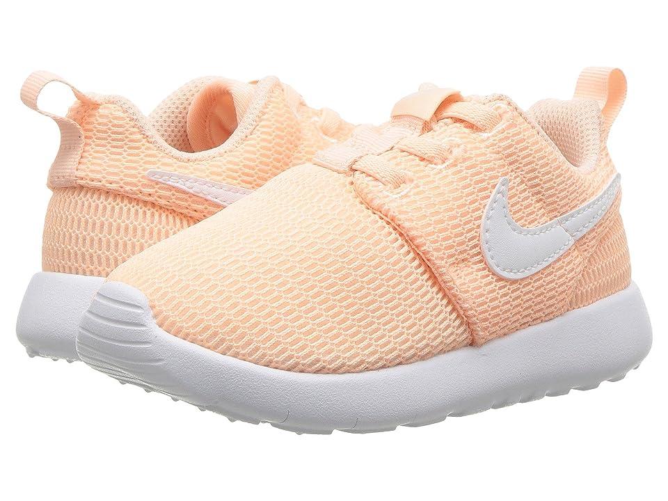 Nike Kids Roshe One (Infant/Toddler) (Crimson Tint/White) Girls Shoes