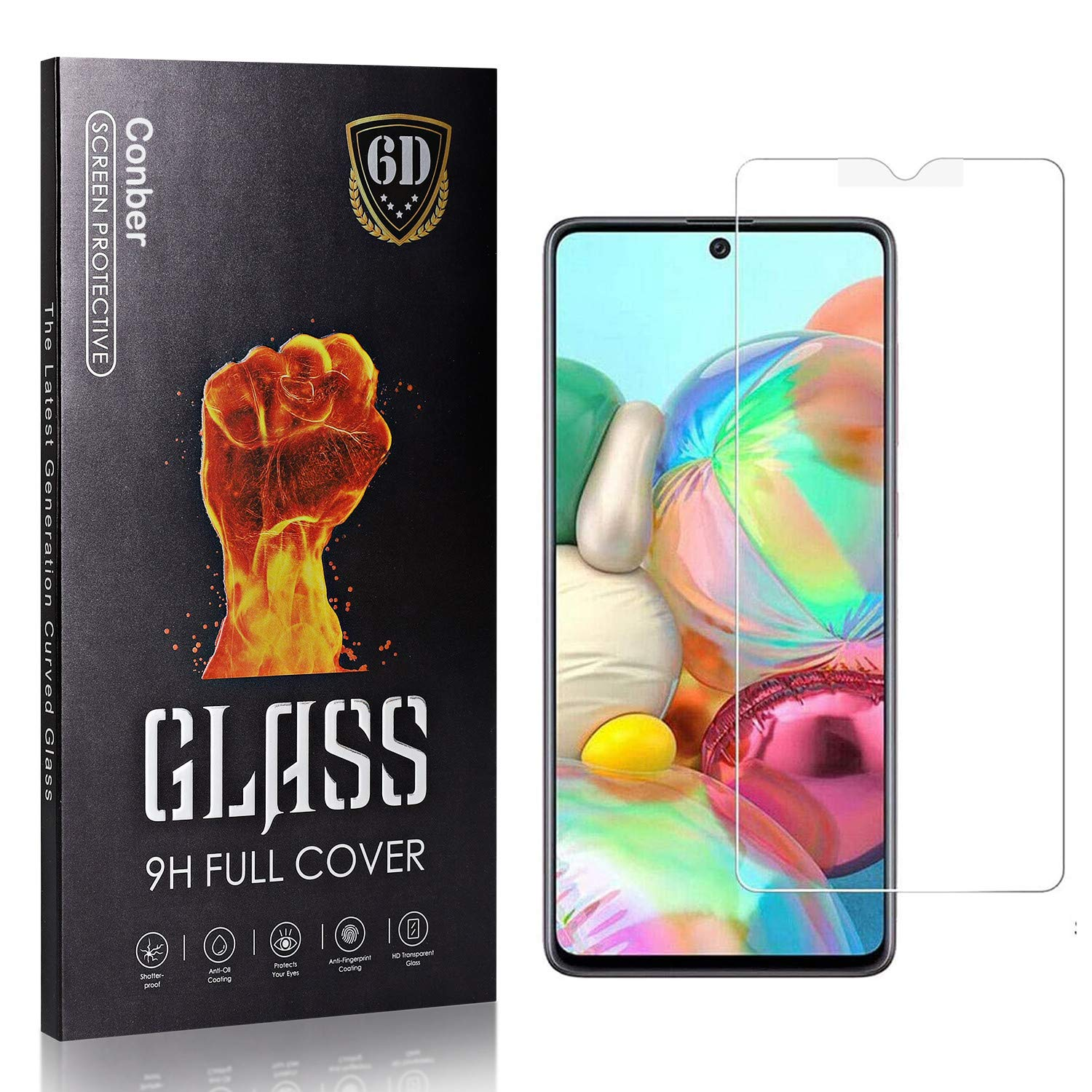 Conber 4 Pack Max 89% OFF Screen Protector for Galaxy Te S10 Be super welcome Lite Samsung