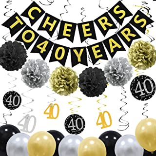 Best 40th bday decorations Reviews