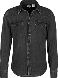 Levi's Men's Barstow Western Shirt, Grey