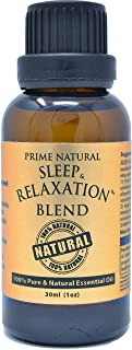 Sleep & Relaxation Essential Oil Blend 30ml / 1oz - Pure Natural Undiluted Therapeutic Grade for Aromatherapy Scents & Dif...