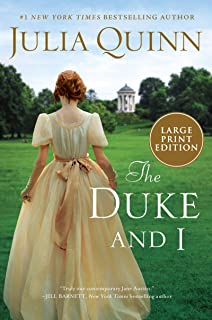 The Duke And I [Large Print]: Bridgerton