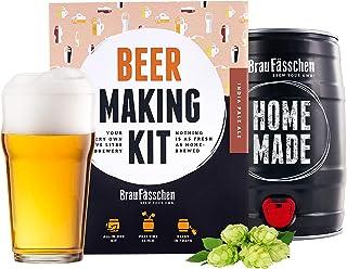 BrewBarrel Kit Brassage Bière IPA - Fabrication de la Bière Faites Votre Bière en FUT 5L - Coffret Cadeau Homme - Braufäss...