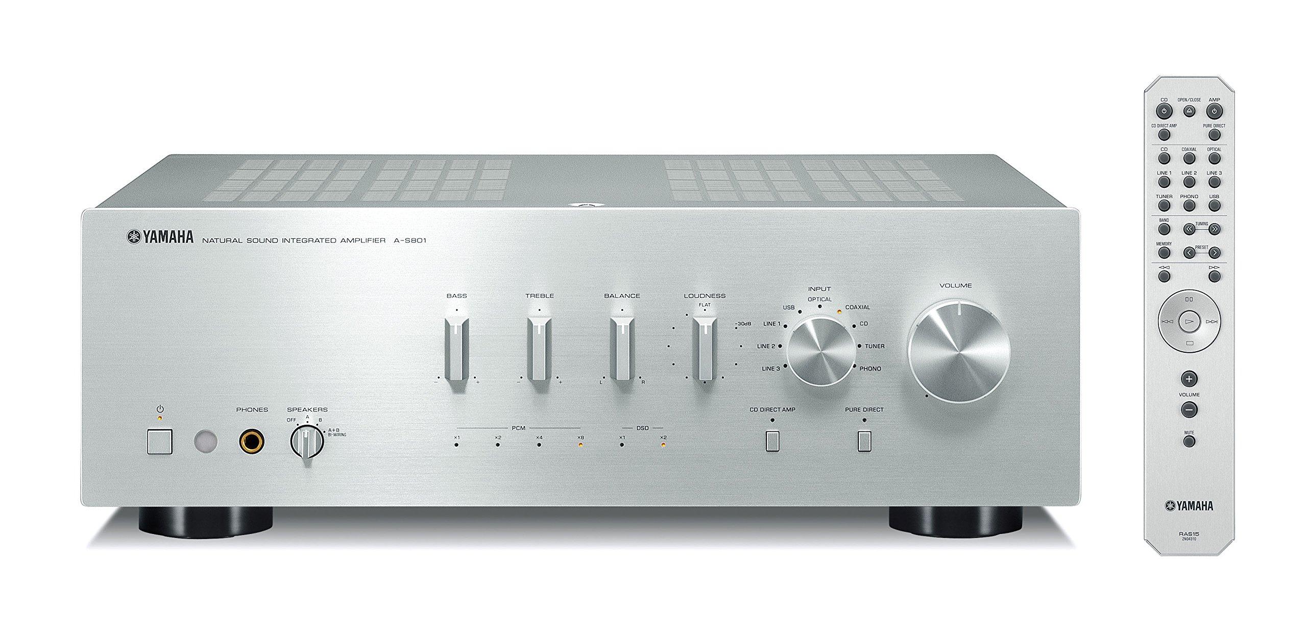 Yamaha S801SL Natural Integrated Amplifier