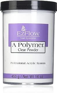EZ Flow A Polymer Clear False Nails, 16 Ounce
