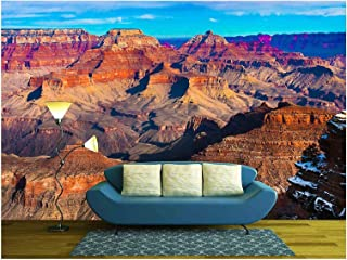 wall26 - The Beautiful Landscape of Grand Canyon National Park, Arizona - Removable Wall Mural | Self-Adhesive Large Wallpaper - 66x96 inches