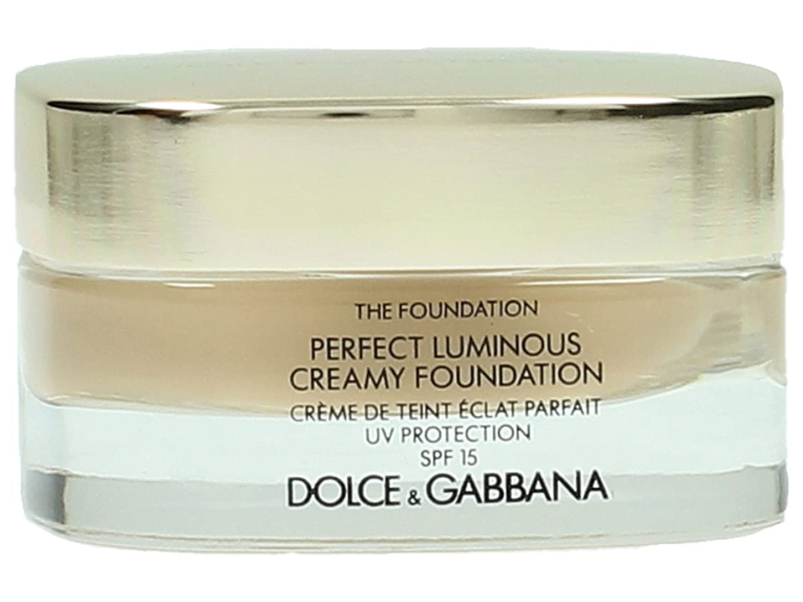 ブラインド想像する弱点Dolce & Gabbana The Foundation Perfect Finish Creamy Foundation SPF 15 - # 120 Natural Beige 30ml