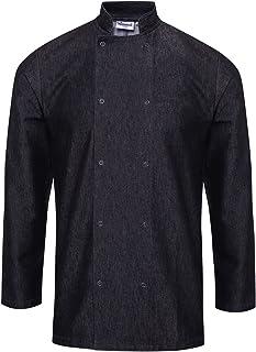 Premier Unisex Denim Chefs Jacket (Pack of 2)