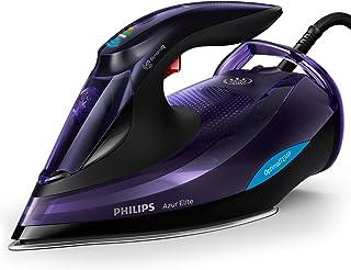 Philips Azur Elite ångstrykjärn med DynamiQ intelligent ångutlösning, 260 g ångboost och smart Quick Calc Release, svart –...