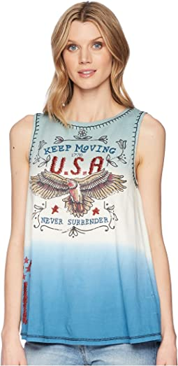 Never Surrender Tank Top