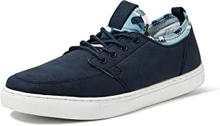 Amazon Brand - Symbol Men's Navy Sneakers-9 UK/India (43 EU) (AZ-YS-195 B)