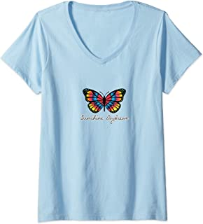 Womens Sunshine Daydream - I V-Neck T-Shirt