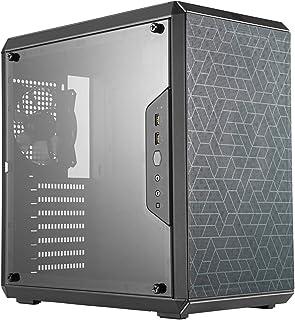 Cooler Master MasterBox Q500L – Caja de Ordenador ATX Mini Torre con Vista Total Panel Lateral, Cableado Ordenado y Múltiples Opciones Enfriamiento