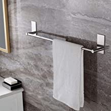 (27.55-inch Towel Bar) - Towel Bar Self Adhesive 70cm Bathroom Brushed SUS 304 Stainless Steel Bath Wall Shelf Rack Hangin...