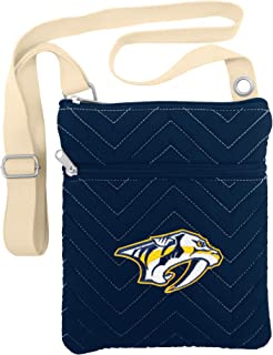 NHL Chev-Stitch Cross Body Purse