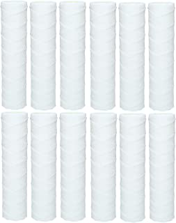 10x Wessper Cartouche Sédiment Bobinée pour l'osmose inverse, l'eau alimentée par le pôle et la filtration des particules...