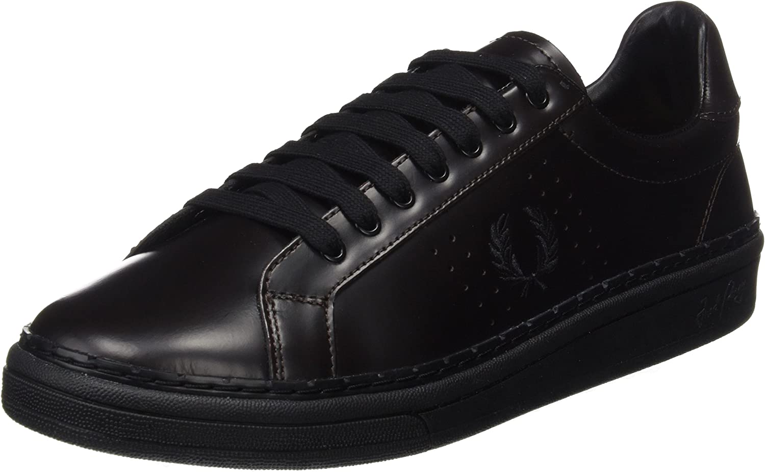 Fred Perry Men's B721 High Shine Leather Oxfords