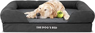 The Dog�s Bed Orthopedic Dog Bed, Waterproof, Premium Memory Foam S-XXL, Dog Pain Relief for Arthritis, Hip & Elbow Dysplasia, Post Surgery, Lameness, Senior Supportive, Calming Bed, Washable Cover