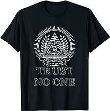 Trust No One Illuminati Conspiracy T-Shirt