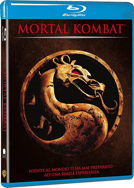 Film - mortal kombat 1995 (blu-ray) warner bros B004OUZKDE