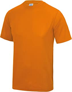 Just Cool Mens Performance Plain T-Shirt