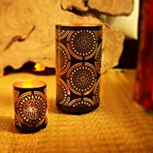 Hashcart Votive Tea Light Candle Holder/Stand - Set of 2