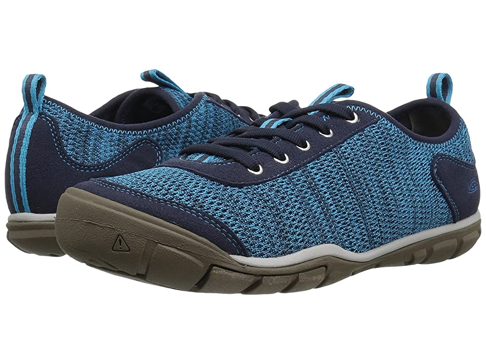 Keen Hush Knit (Vivid Blue/Dress Blue) Women