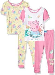 Peppa Pig Girls' 4 Piece Cotton Set