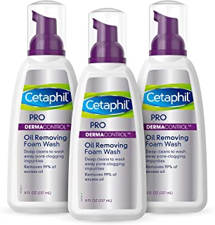 Cetaphil Pro Oil Removing Foam Wash, 8 Fluid Ounce (Pack of 1)