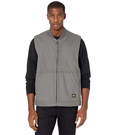 Timberland PRO Gritman Lined Canvas Vest (Pewter) Men