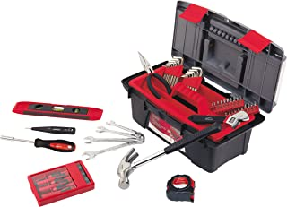 Apollo Tools DT9773 53 Piece Household Tool Set with Wrenches, Precision Screwdriver Set..