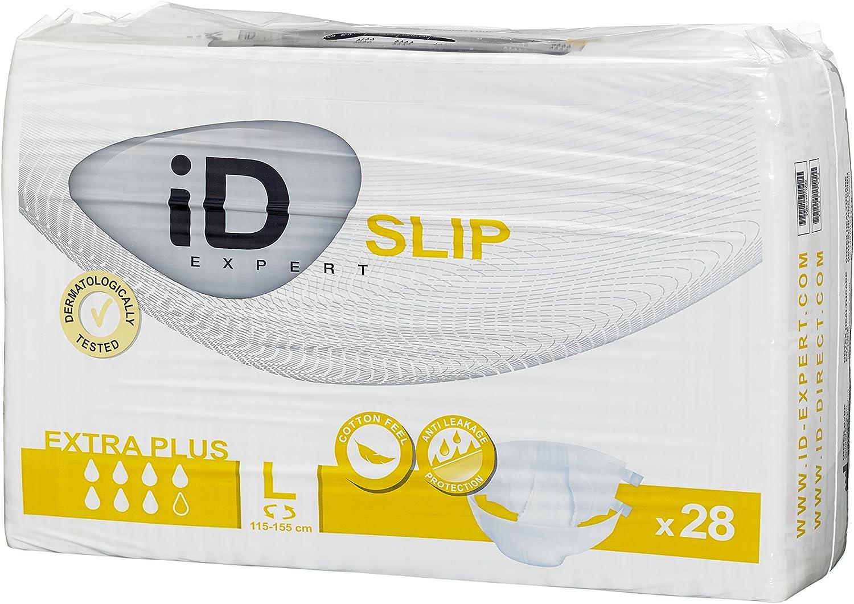 Pack of 28 iD Expert D418048L Slip TBS Plus Brief Size L