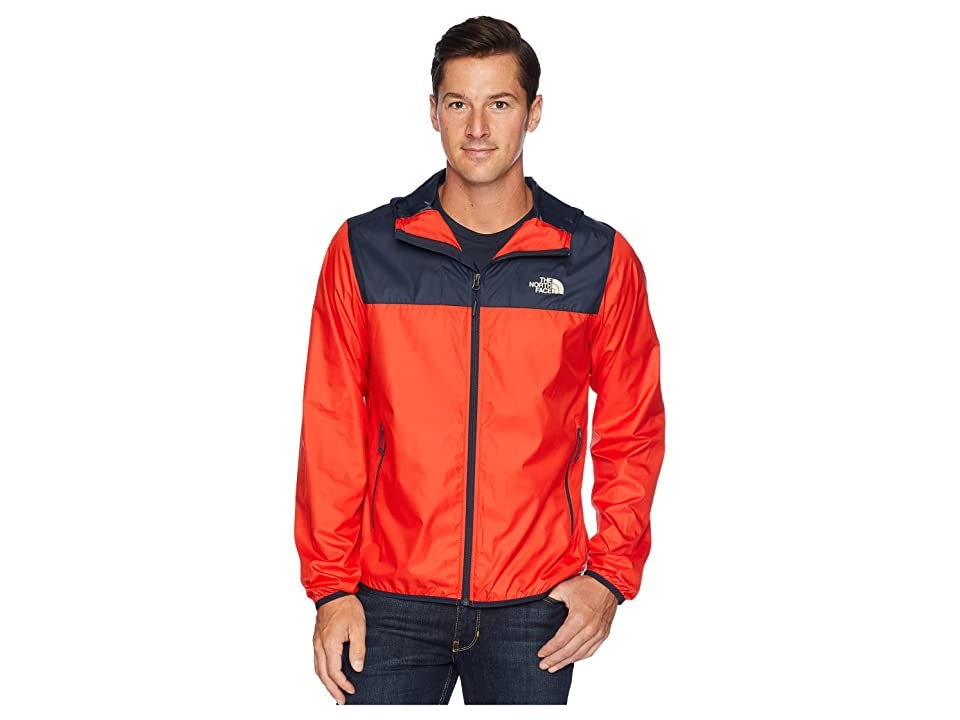 The North Face Cyclone 2 Hoodie (Fiery Red/Urban Navy) Men