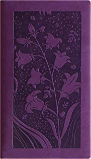 Letts Blossom Week to View 2020 Planner, Purple, 6 x 3.125 Inches (CB3N01-20)
