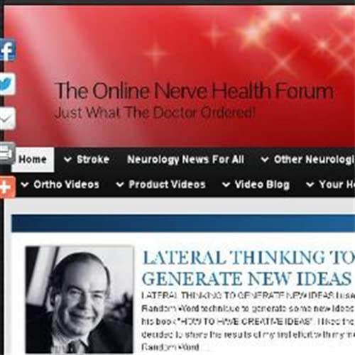 The Online Nerve Health Forum