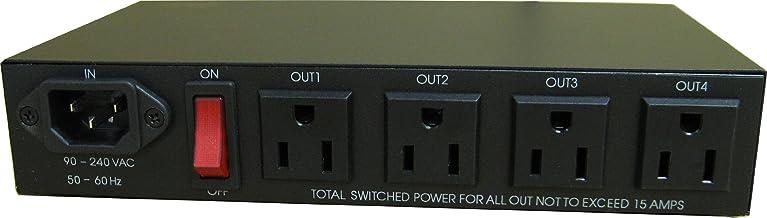IP Power9258 リモート電源制御装置 ネットワーク経由で4ポート電源を操作
