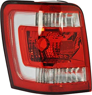 Passenger Side & Driver Side Tail Light Lamp for 2008-2012 Ford Escape