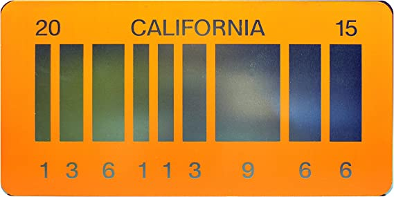 Back to the Future Part II License Plate